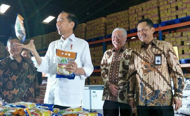 Jokowi: Peningkatan Produksi Beras dan Jagung Dalam Kurun Empat Tahun Terakhir Berhasil