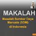 Makalah: Masalah SDM di Indonesia dan Penanganannya