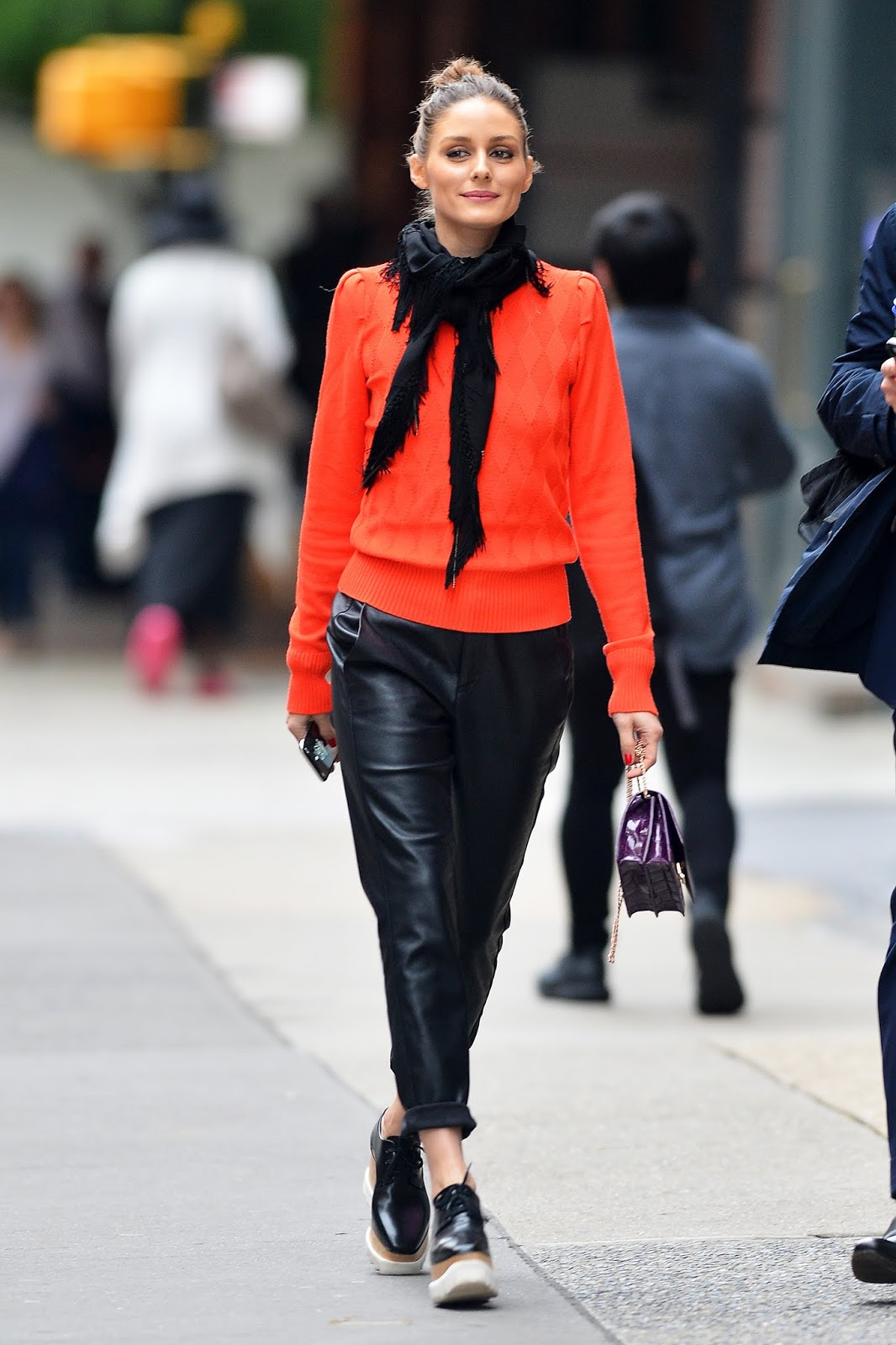 Olivia Palermo Takes Stylish Stroll In Nyc