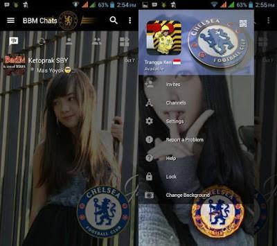 Download  BBM Chelsea v3.0.1.25 APK