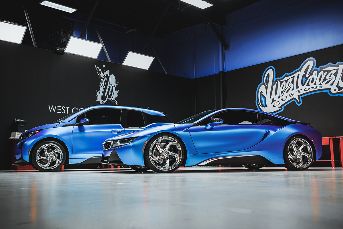 West Coast Customs Makes Bmw I3 And I8 Duo Look Like