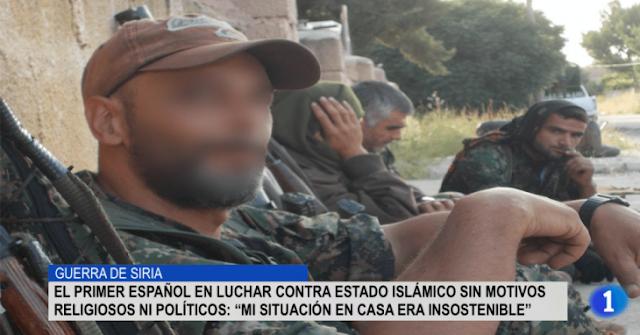 Español combate a ISIS para evitar gritos de su mujer