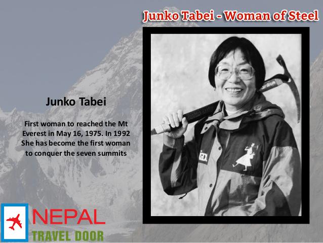Junko Tabei died at 77