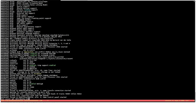Supratim Sanyal's Blog: Hercules IBM S/390 z/arch emulator startup and CD-ROM boot command