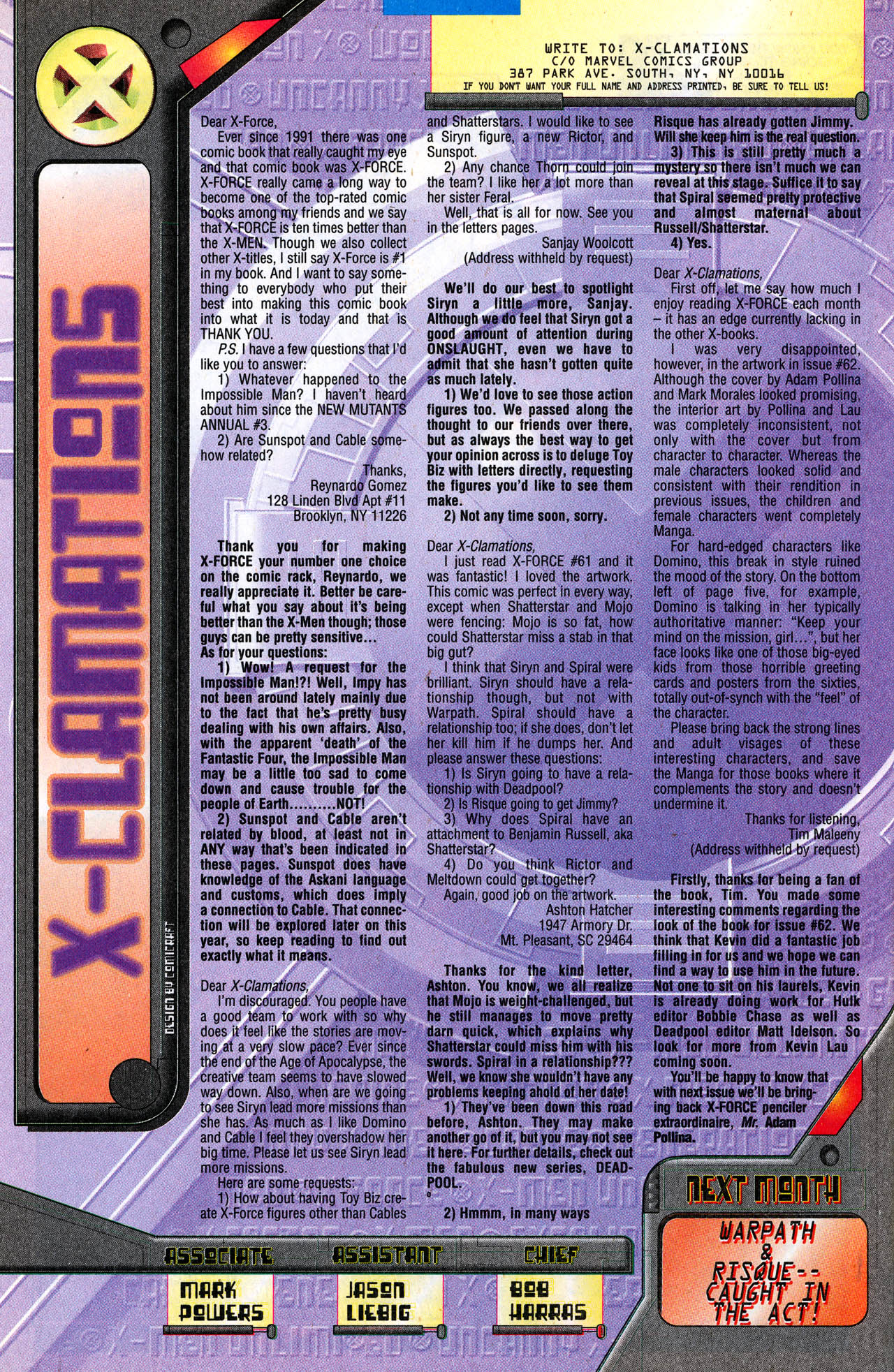 Read online X-Force (1991) comic -  Issue #64 - 36