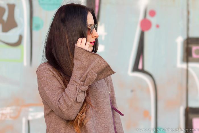 BLogger de moda valenciana con ideas para vestir durante el embarazo con ropa zara