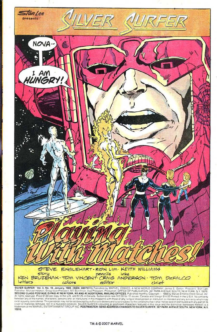 Read online Silver Surfer (1987) comic -  Issue #19 - 3