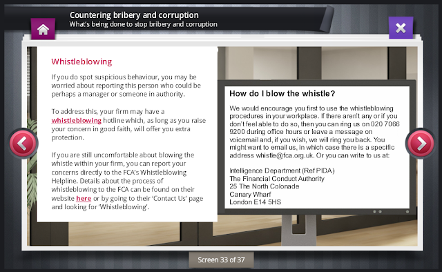 ComplianceServe Screen for Countering Bribery and Corruption