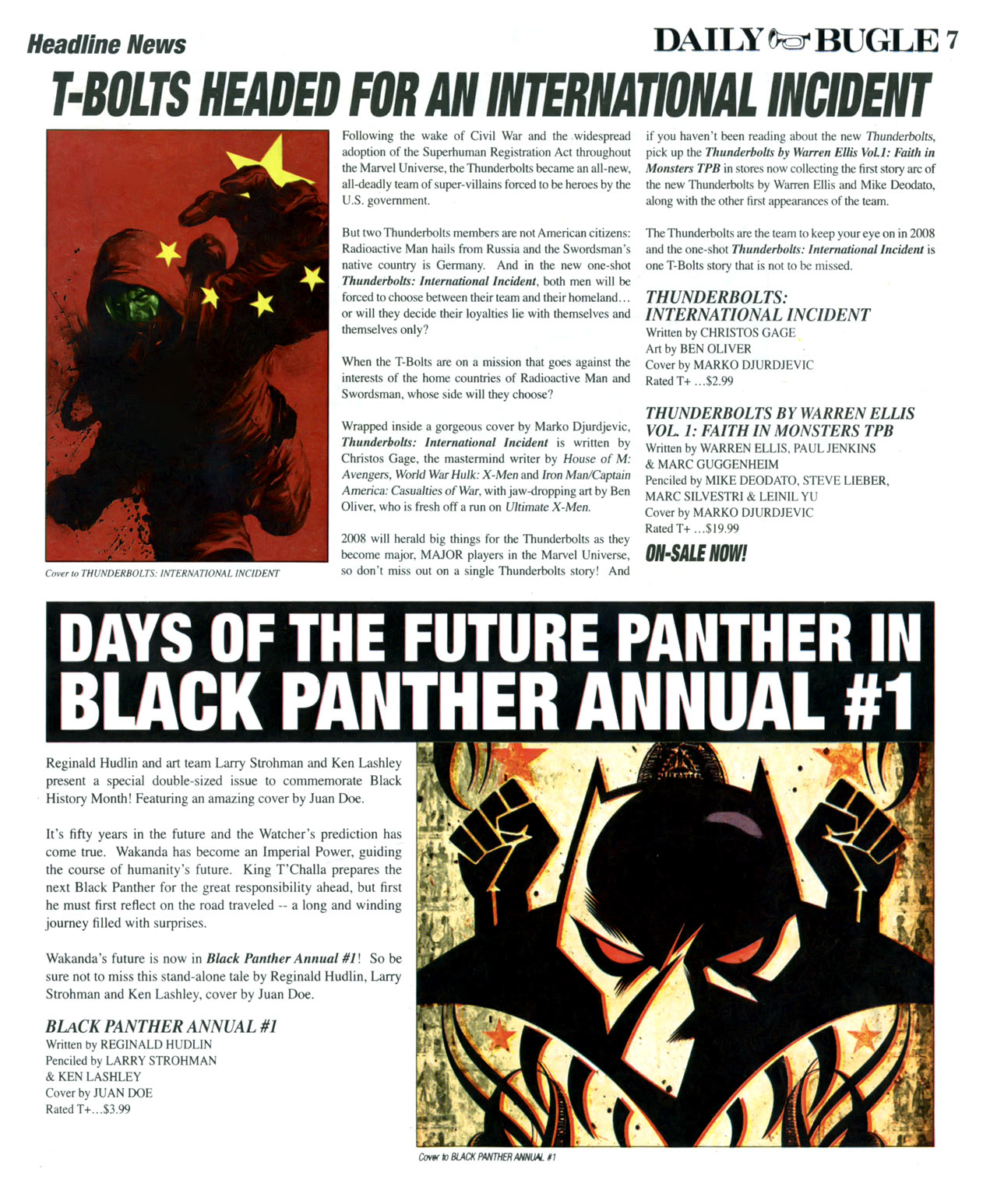 Read online Daily Bugle (2006) comic -  Issue #17 - 8