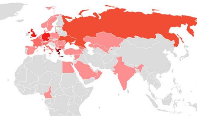Πόσοι (και πού) είναι οι Έλληνες του εξωτερικού