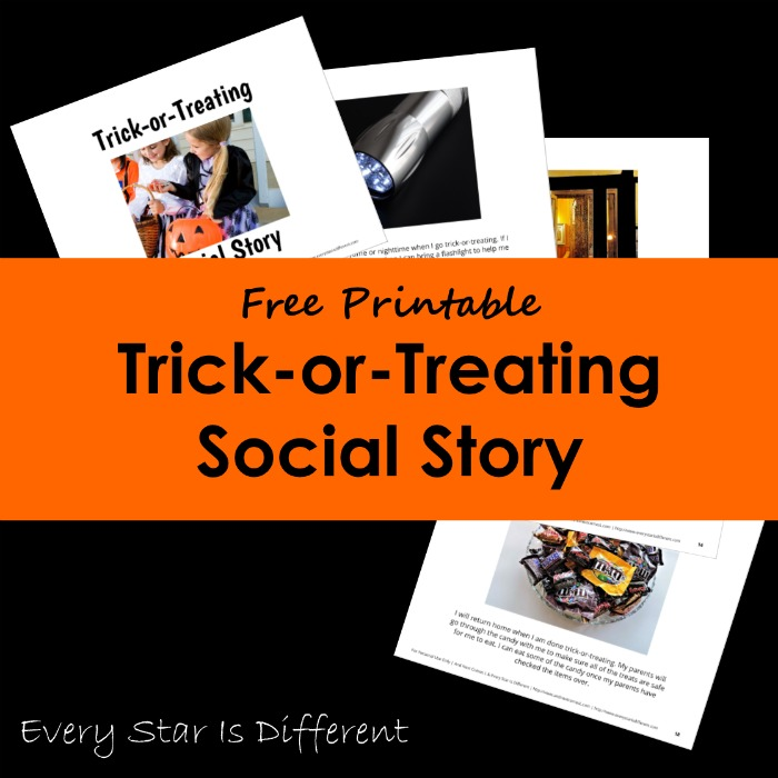 Trick-or-Treating Social Story