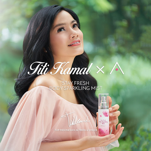 Althea x Titi Kamal Stay Fresh Body Sparkling Mist
