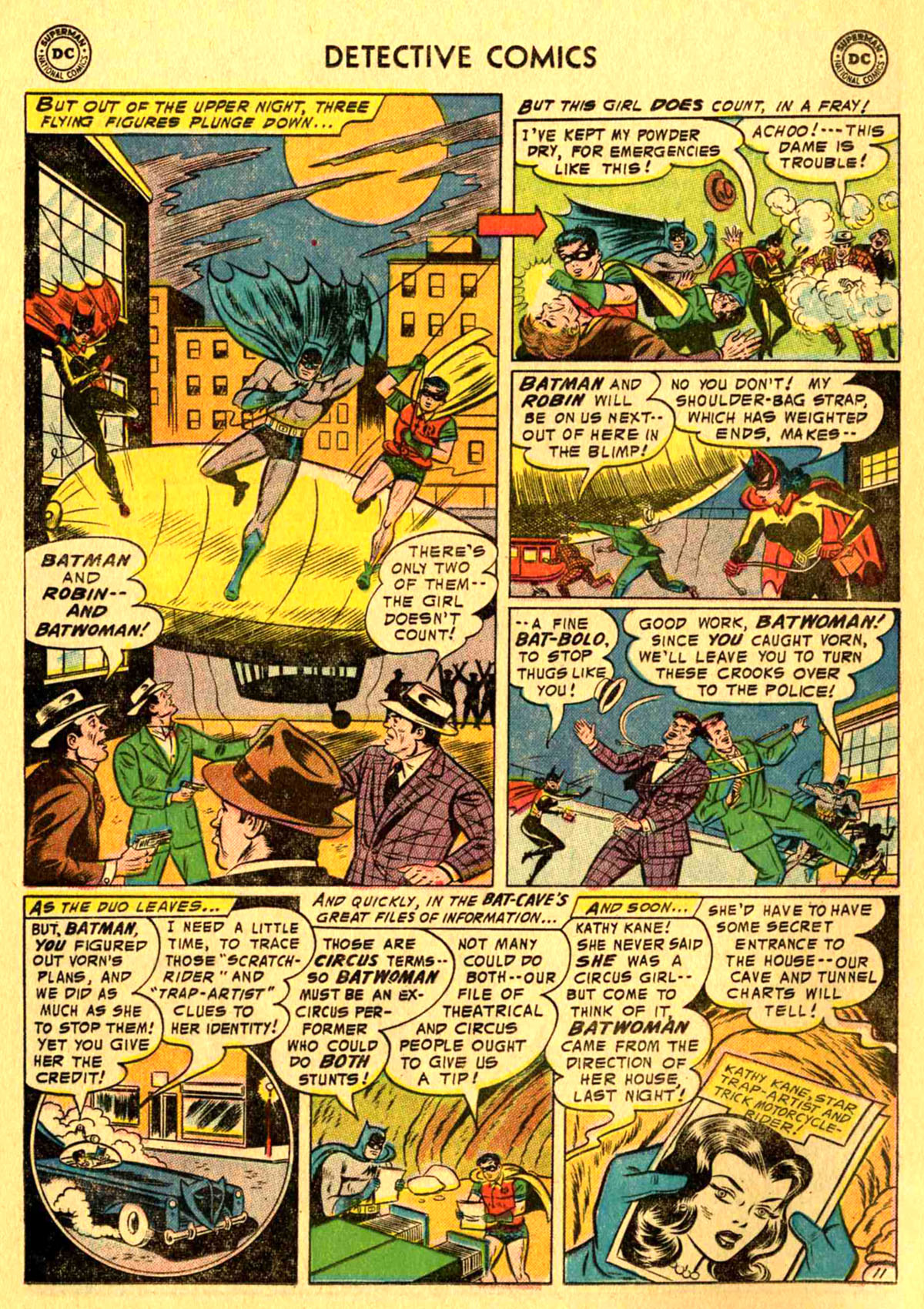 Read online Detective Comics (1937) comic -  Issue #233 - 13