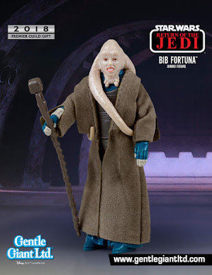 "Premier Guild Exclusive Return of the Jedi Bib Fortuna 12"" Jumbo Vintage Kenner Star Wars Action Figure by Gentle Giant"