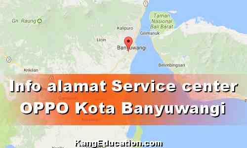 Alamat OPPO service center Banyuwangi