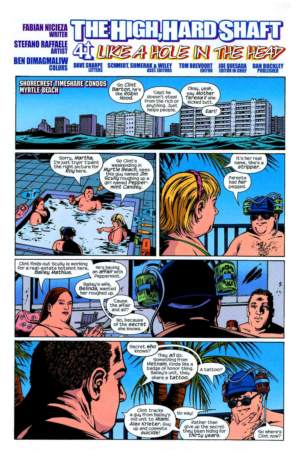 Hawkeye (2003) Issue #4 #4 - English 5