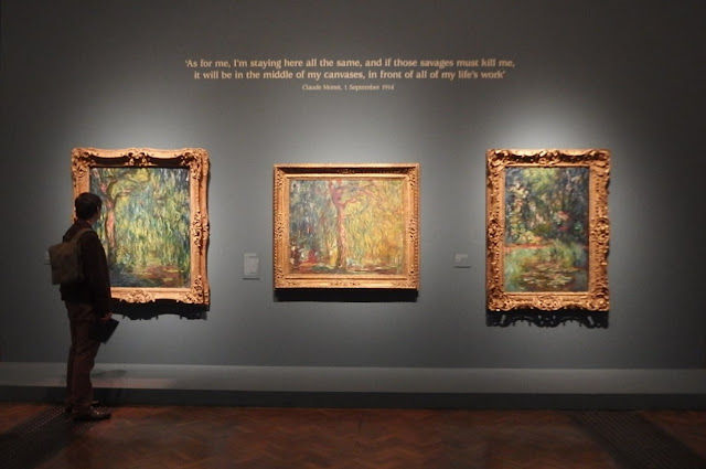Some of Monet's darker WW1 era paintings