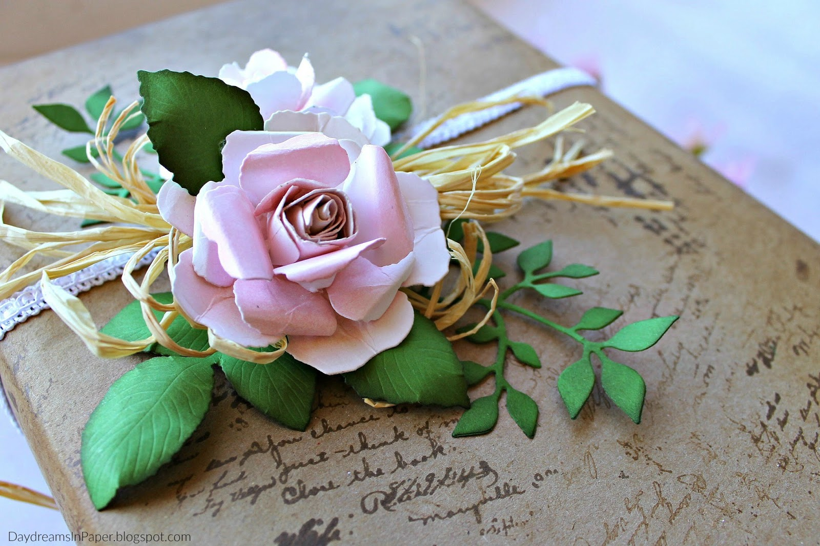 Tutorial create a beautiful rose daydreams in paper it is exquisite and you can find it here my roses are no where near as beautiful as hers but with more practice i hope to get them to look just as izmirmasajfo