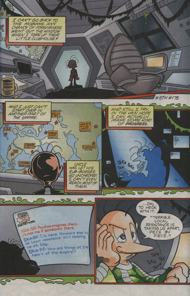 Read online Sonic The Hedgehog comic -  Issue #194 - 25
