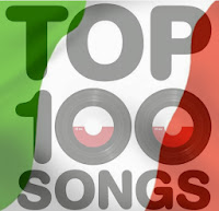 Top 100 Italian songs of today