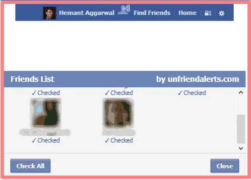 See Who Unfriended4