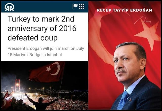Erdogan: Setelah 2 Tahun Kudeta & 200 Kali Percobaan Pembunuhan