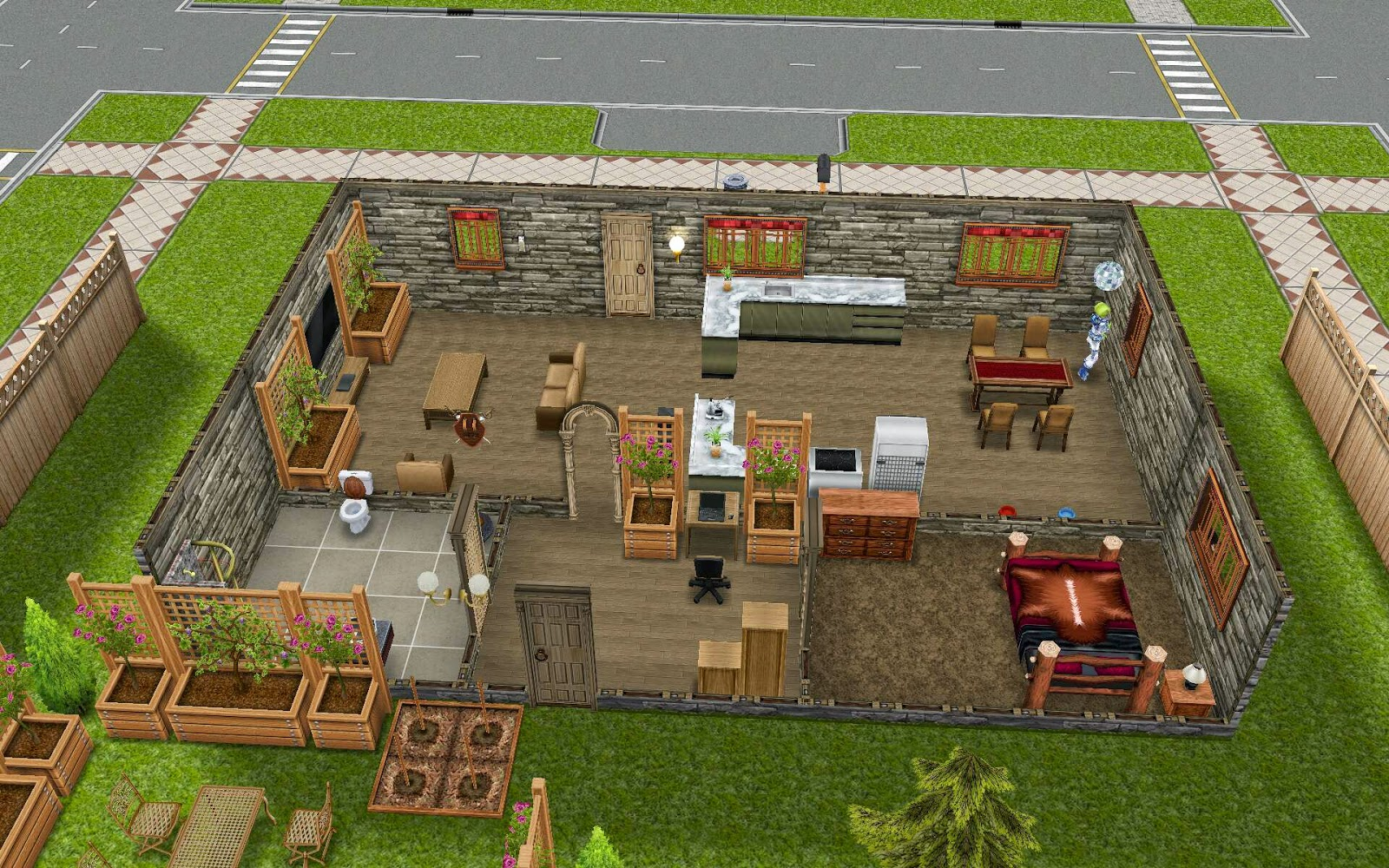 one bedroom home sims freeplay | www.cintronbeveragegroup.com