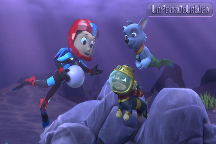 Paw Patrol : Pups save Puplantis [2019] MP4 Latino