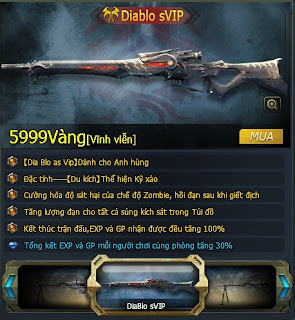 Diablo sVIP được mở bán với giá khá cao