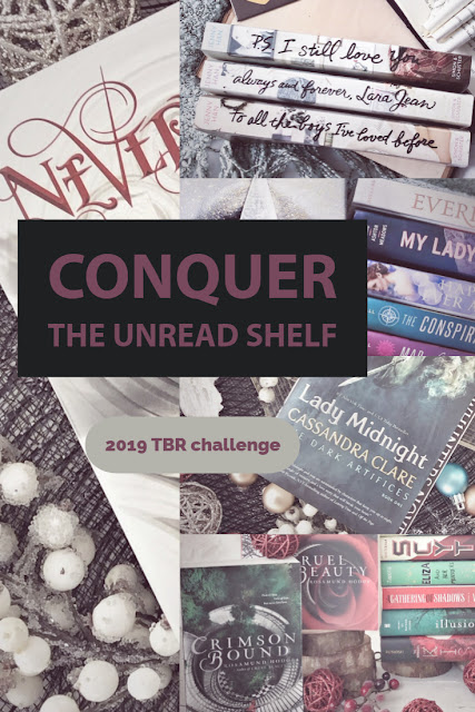 Conquering the Unread Shelf - 2019 Challenge for TTT