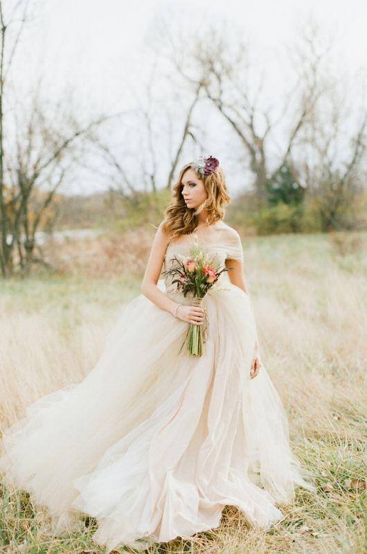Autumn Ball Gown Wedding Dress