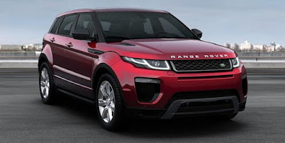 Range Rover Evoque Red color image