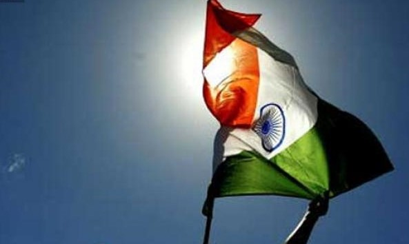 india national flag essays