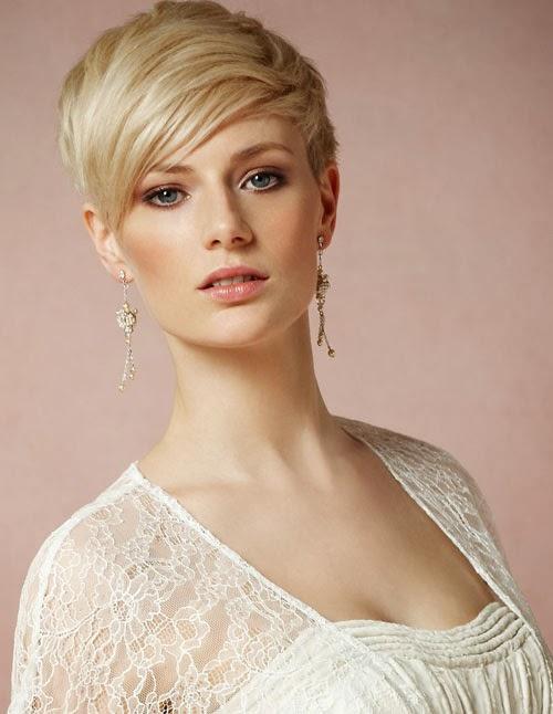 Blonde Pixie Haircut Nude 68