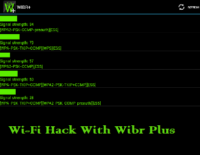 WIBR Plus Wifi BRuteforce Hack Pro Apk 2018