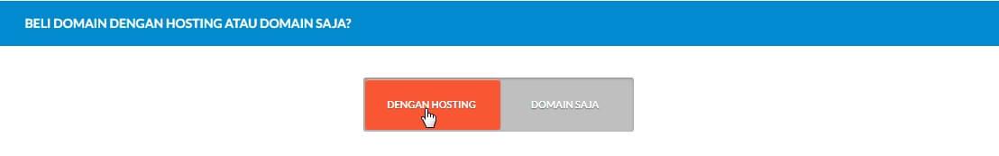 cara membeli domain hosting