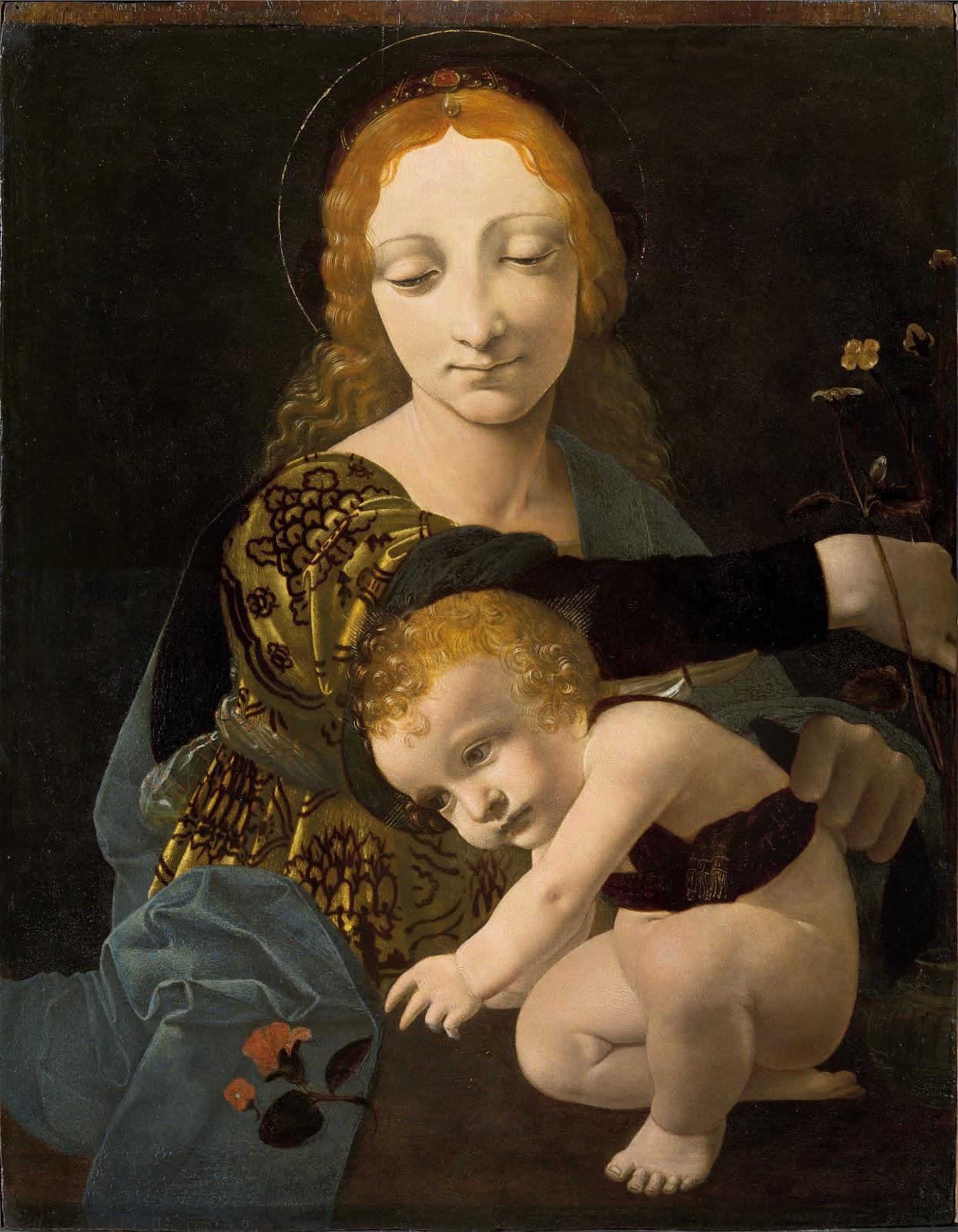Джованни Антонио Ольтраффи Мадонна с Амбино Музей Полди Пеццоли Милан