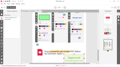 IceCream PDF Editor 1.17