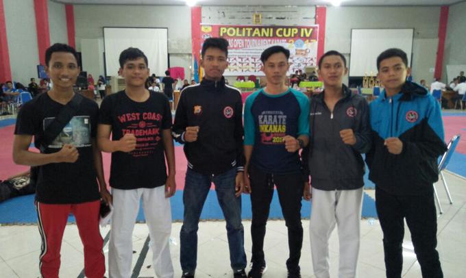 Karateka Ini Sukses Harumkan Nama Bone di Open Turnamen Politani Pangkep