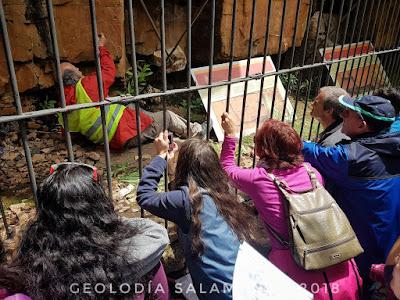 Juzbado, Museo de la Falla, Geolodía 2018, Salamanca