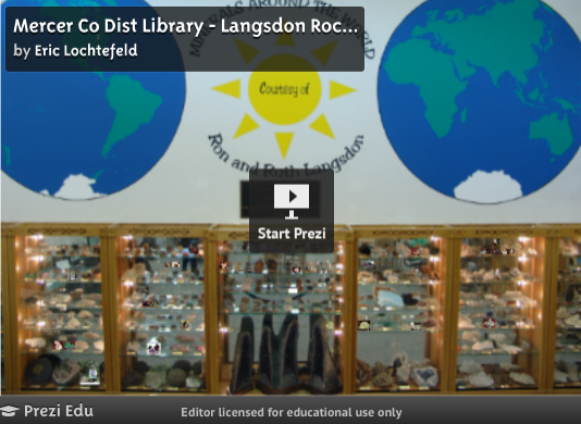Langsdon minerals and rock collection for Mercer available loads