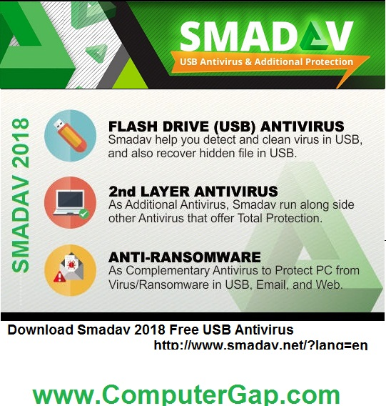 Download Smadav 2018 Free USB Antivirus and Clean Your USB