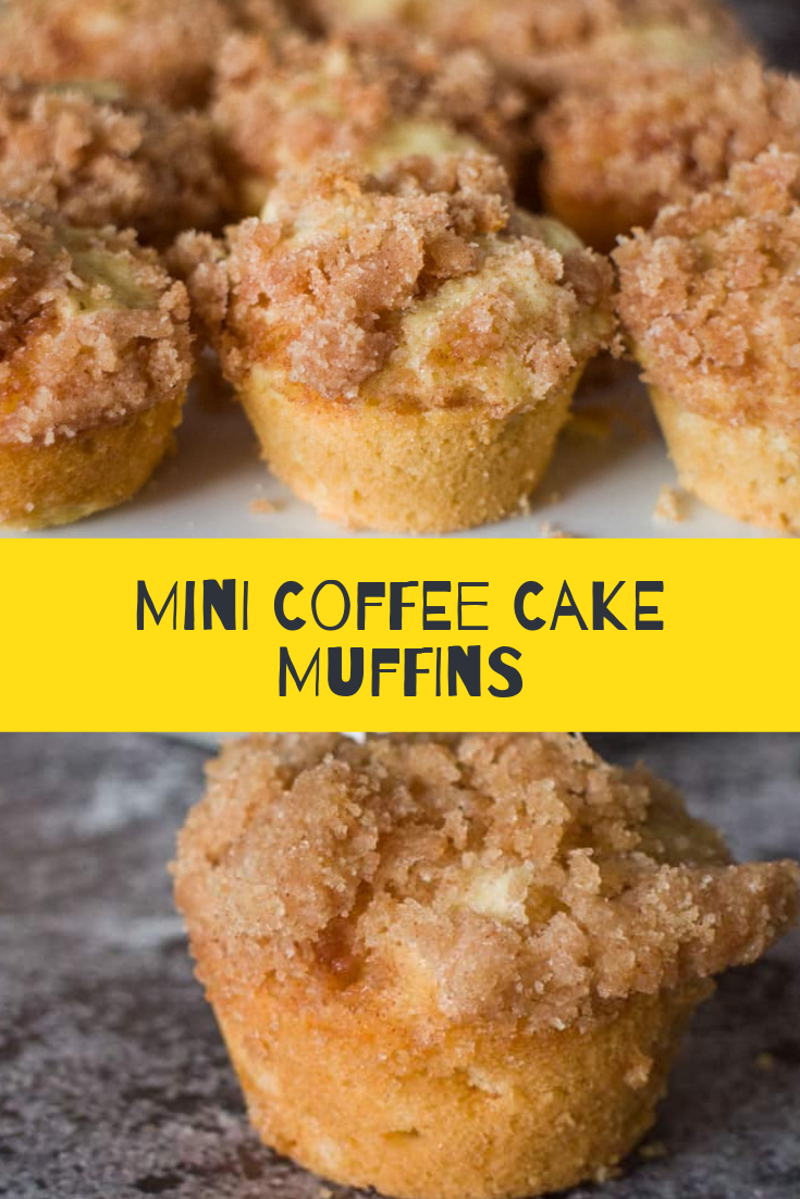 Mini Coffee Cake Muffins Recipe