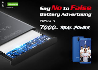 7000mAh real battery