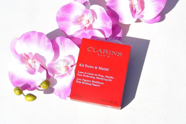 Clarins pores & mattyfing kit