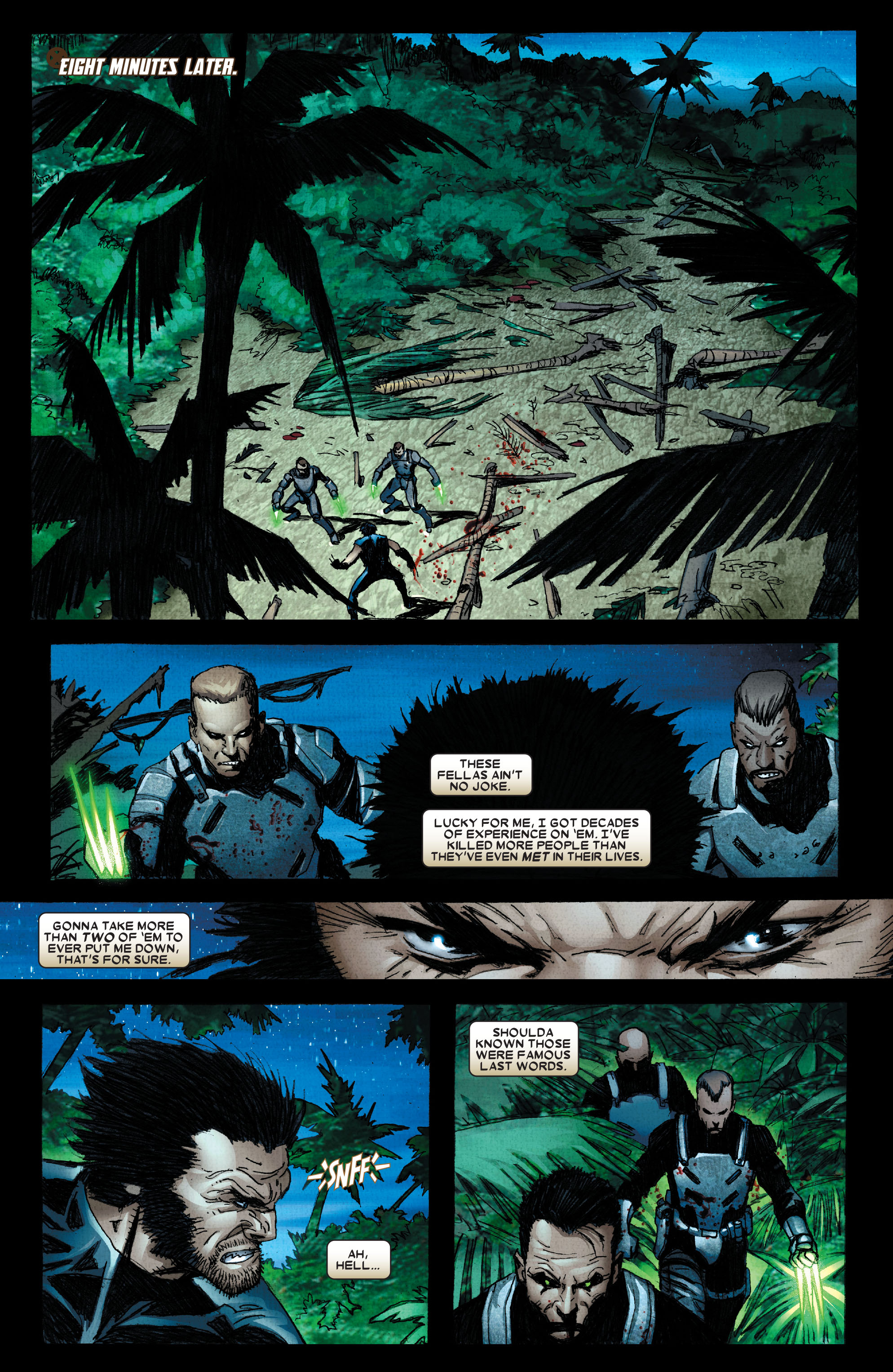 Read online Wolverine: Weapon X comic -  Issue #2 - 20