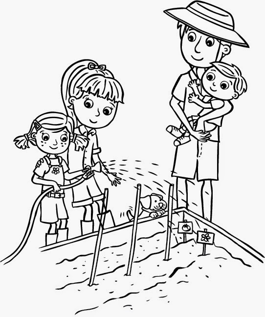 olivia coloring pages for kids - photo#6