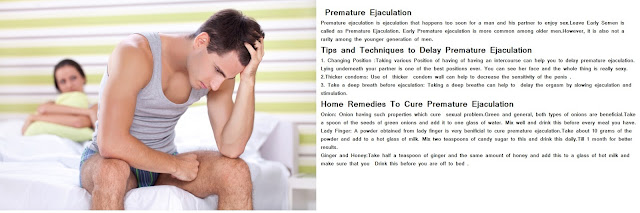 Natural Home remedies for Impotency