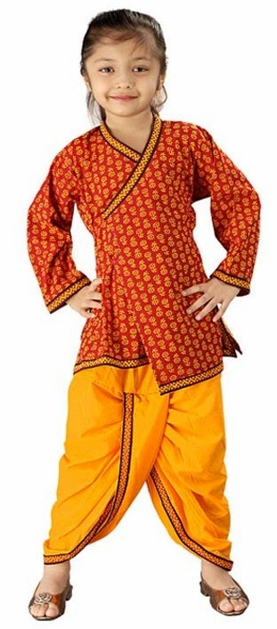 Traditional Indian Clothing for Children - Indian ...