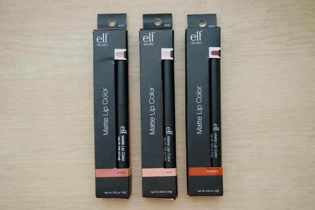 e.l.f. Studio Matte Lip Color Review